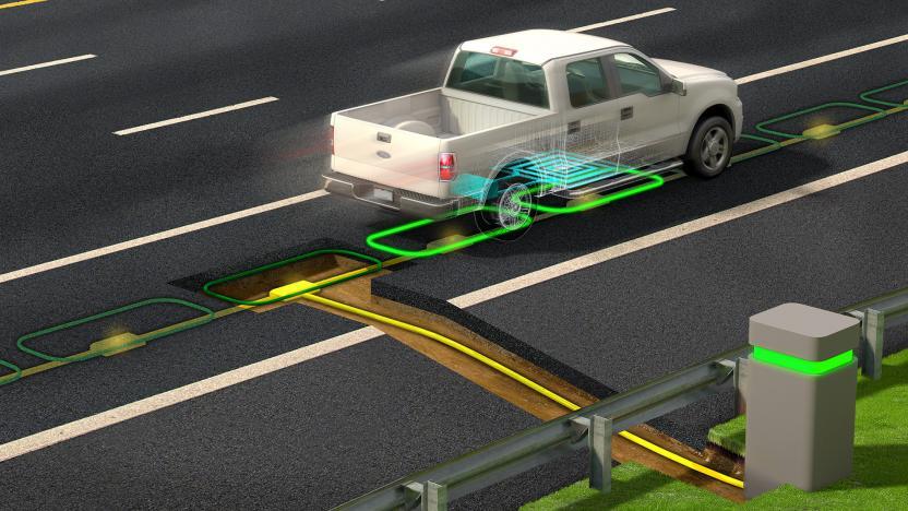 EV Charging Roadway